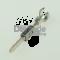 Lear 46594.330.185 - AFS Plus 1.5 Maennlicher gedichteter verzinnter Stiftkontakt 0.20 - 0.35 mm2 (loose pieces)