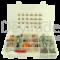 Sortiment aus gedichteten Deutsch DT Fahrzeugsteckverbindern mit 1.0 - 2.0 mm2 Rock Solid Kontakten und Entriegelungswerkzeug