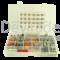 Sortiment aus gedichteten Deutsch DT Fahrzeugsteckverbindern mit 0.75 - 2.0 mm2 Stanz-Biegekontakten und Entriegelungswerkzeug