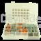 Sortiment aus gedichteten Deutsch DT Fahrzeugsteckverbindern mit 1.0 - 2.0 mm2 Rock Solid Kontakten