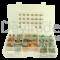 Sortiment aus gedichteten Deutsch DT Fahrzeugsteckverbindern mit 0.75 - 2.0 mm2 Stanz-Biegekontakten