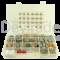 Sortiment aus gedichteten Deutsch DTM Fahrzeugsteckverbindern mit 0.20 - 0.50 mm2 Rock Solid Kontakten und Entriegelungswerkzeug