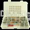 Sortiment aus gedichteten Deutsch DTM Fahrzeugsteckverbindern mit 0.35 - 1.0 mm2 Stanz-Biegekontakten und Entriegelungswerkzeug