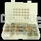 Sortiment aus gedichteten Deutsch DTM Fahrzeugsteckverbindern mit 0.35 - 1.0 mm2 Stanz-Biegekontakten