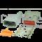 Deutsch Kit: 12-poliges maennliches Steckerkit DTM Serie mit Gummituelle