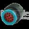 Deutsch HDP26-18-14SE-CL20 - 14-poliger HDP20-Serie mit reduziertem Dichtungsdurchmesser (E-Seal), Ringadapter, spezielle Codierung