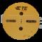 Tyco 927770-3 - Weiblicher verzinnter Junior Power Timer Buchsenkontakt, 0.50 - 1.00 mm2 (Spule zu 3750 St.)