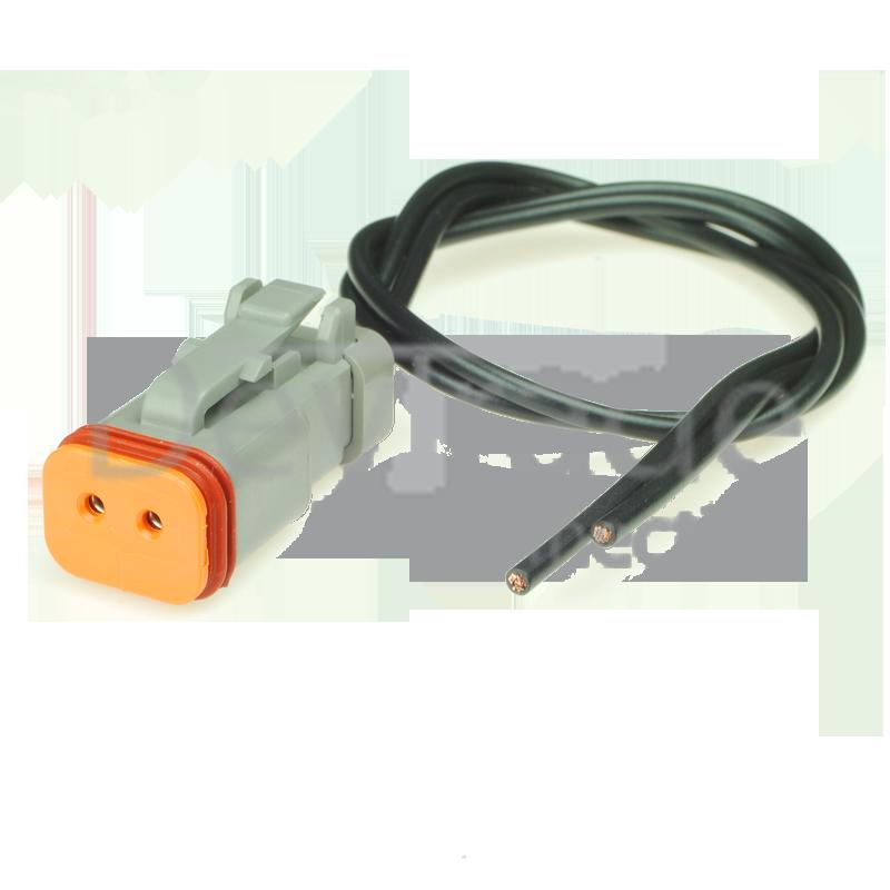 Deustch DTM-Stecker mit Leitungen