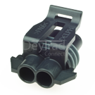 Delphi 12052641 - 2 poliges Delphi Metri-Pack 150 Buchsengehaeuse gedichtet schwarz